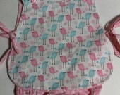 Baby Girl  Custom Boutique Apron Pinafore With Bloomers  Sizes  newborn to 24 months