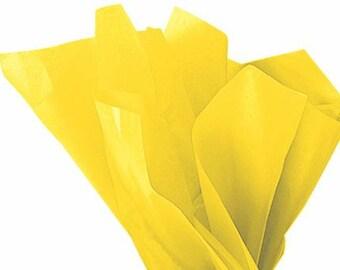 Tissue Paper - 120 Sheets Premium BUTTERCUP
