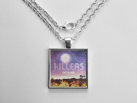 The Killers - Day And Age Album Cover Necklace OR Keychain