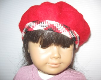 American Girl Doll French Beret