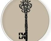 Instant Download,Free shipping,Cross stitch pattern, Crossstitch PDF/JPEG,vintage key pattern, cross stitch pillow pattern,zxxc0613