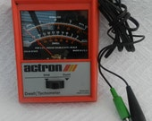 Actron-Vintage Engine Anaylizer- Automobile Tester- Found Object