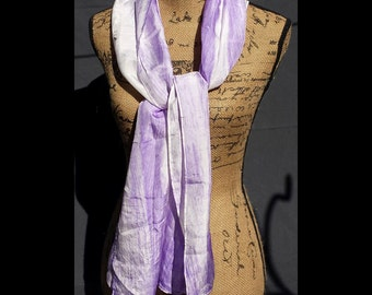 Purple Heart Silk Scarf