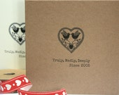 Personalised 'Truly,Madly,Deeply' Valentines Day, Wedding or Anniversary Card