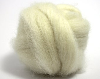 Icelandic Wool Top - Ecru - 16 oz