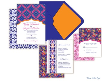 Turkish/Morocco Wedding Invitations