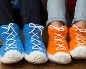Hi-Top Slipper Sneaker Socks