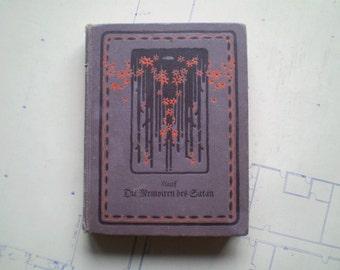 Mitteilungen aus den Memoiren des Satan - 1909 - by Wilhelm Hauff - Satire - Fantasy - Memoirs of Satan - German Language Edition