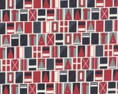 The Boat House by Sweetwater - Multi Set Sail (5550-14) - 1 Yard