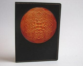 Leather Passport Case / Sunburst Original Design