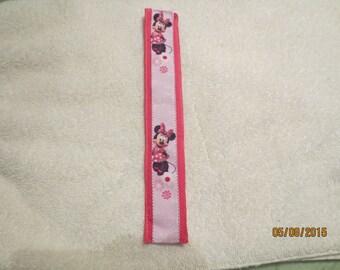 Slap Bracelets for little girls. One of a kind jewelry. Minnie mouse bracelet