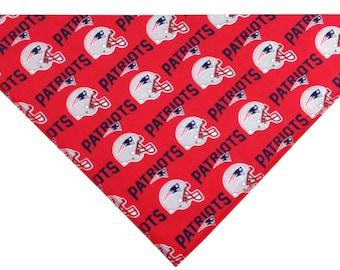 New England Patriots Dog Bandana