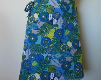 Wrap Around Skirt - Tropical Forest