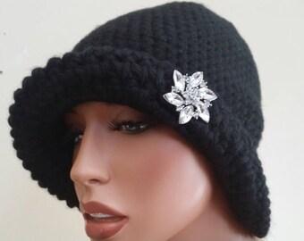 Black beauty hat