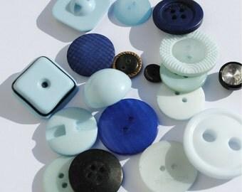 Blue Mix - Stash Boost Buttons - 30g bag