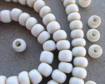 African White Padre Beads