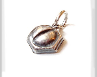 """Recycled Silver Screw Small Pendant, Men, Womans Necklace, """"A Little Screwy""""  Eco-friendly, Novelty, Hardware, Butch Fashion Accessory"""