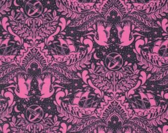 Tula Pink Fabric by the Yard Elizabeth Ship Shape in Sky Cotton Fabric Half Yard