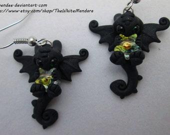 Nightfury Star Earrings