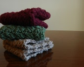 Country Christmas Crocheted Cotton Dishcloths