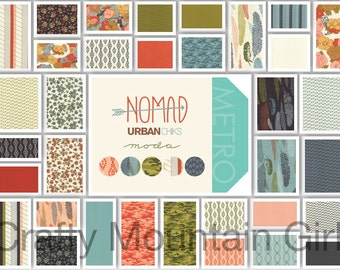 Nomad Charm Pack by Urban Chiks for Moda