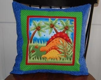 SALE, Dinosaur Pillow, Boys Bedding