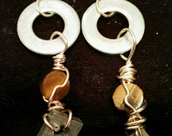 Steampunk Earrings - 20% off with code BLF2016