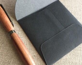 """Small Black Square Envelopes - Size 3"""" x 3"""""""