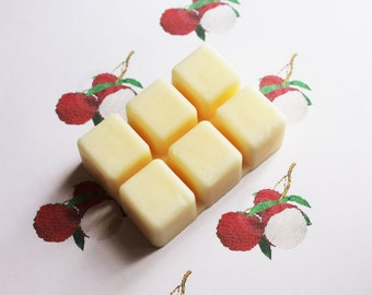 Lychee Fruit Scented Melts - Natural Vegan Soy Wax - Soy Candles - Soy Wax Melts - Soy Tarts