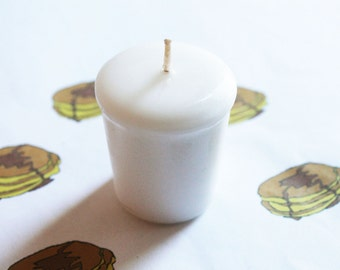 Buttermilk Pancakes Scented Votive Candle - Paraffin Wax - Home Decor - Votive Candles - Wedding Candles - Birthday Candles - Candle Favors