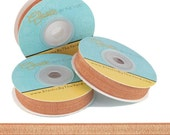 """Hot Chocolate - Fold Over Elastic - Solid FOE - 5/8"""" Wide - 5 Wholesale Yards"""