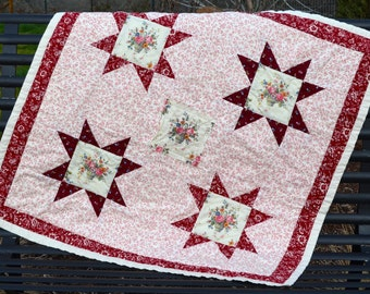 Baby Quilt, Country Cottage