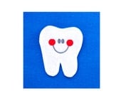 Tooth Pocket Tooth Fairy Pin for Backpack and Bedroom
