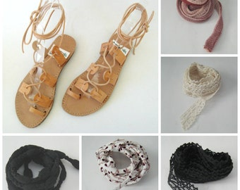 Extra laces for gladiator sandals, Lace up sandals, extra laces, gladiator laces, lace up boho sandals, bohemian sandals