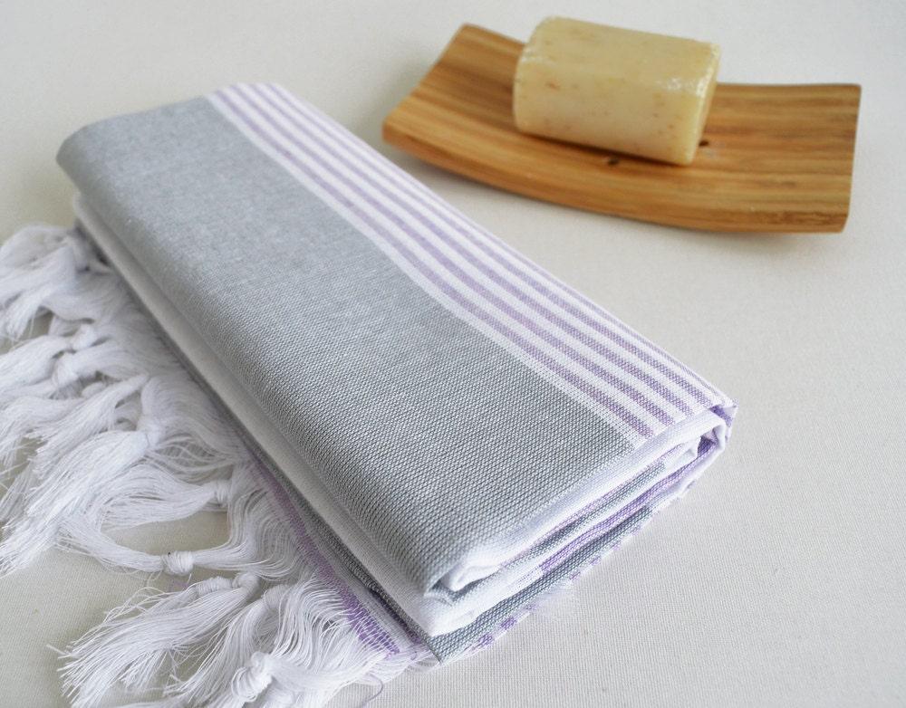 sale 50 off bathstyle turkish bath towel peshtemal gray. Black Bedroom Furniture Sets. Home Design Ideas