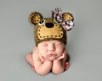 Brown Bear Hat, Halloween Costume, Newborn Photo Prop, Baby Boy, Crochet Bear, Koala, Animal Hat, Disney Character, Baby Accessory, Bears