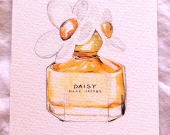 Marc Jacobs, Daisy A4 Print