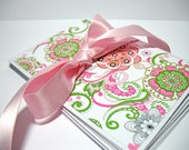 Flower stationary, flower notecards, flower note cards,  stocking stuffer, gift for under 10 dollars, Blank Notecards