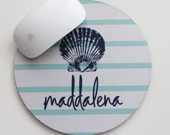 SEASIDE mousepad with name