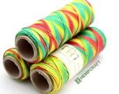 0.5mm Hemp Twine, Rasta Micro Macrame Cord, High Quality Crafting Cord