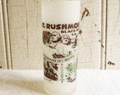 Vintage Mt. Rushmore and the Black Hills Souvenir Glass - South Dakota Road Trip Souvenir - Mid Century 1960s