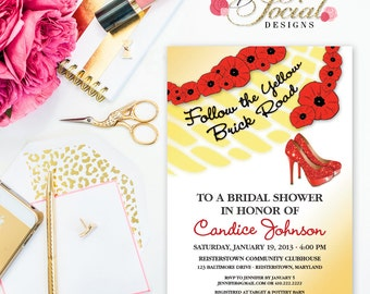 Wizard Printable Bridal Shower Invitation