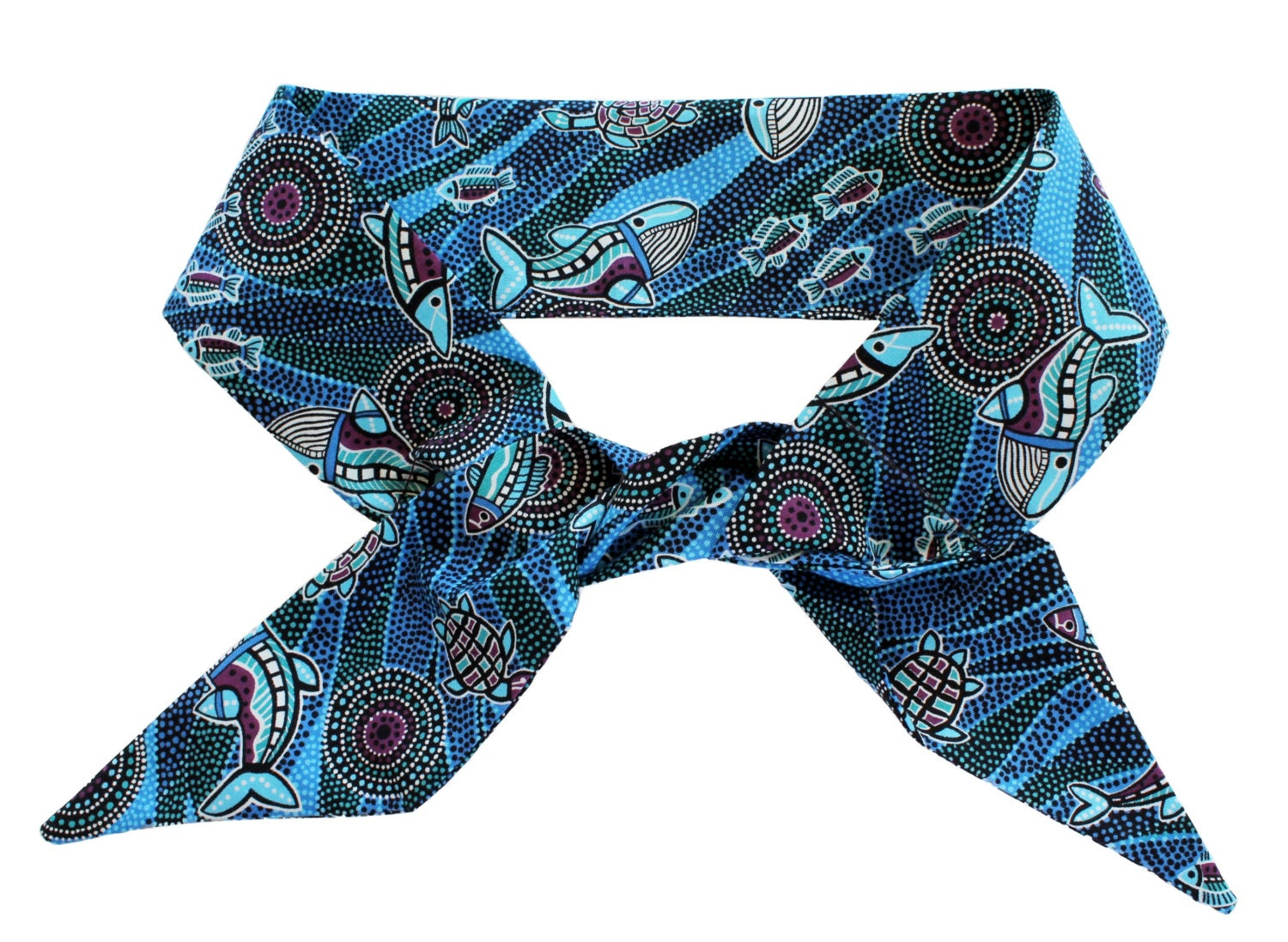 Cooling Neck Scarf : Aussie neck cooling scarf bandana aboriginal