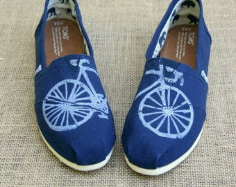 Bike Custom TOMS Shoes