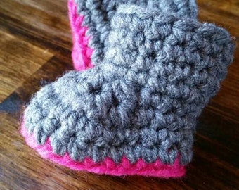 Warm Winter Baby Boots