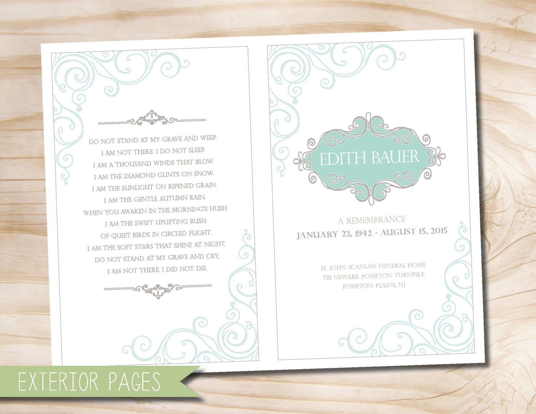 Funeral invitation – Funeral Ceremony Invitation