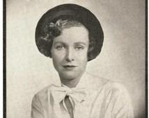 Stitchcraft Magazine April 1934, Art Deco handcrafts - Vintage Knitting Pattern booklet PDF