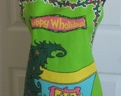 How the Grinch Stole Christmas Whooville Christmas Feast Apron