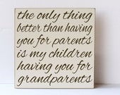 Grandparents Like You, Grandparent Wood Sign, Art for Grandparents, Grandparents, Gift for Grandparent, Art for Grandparents,