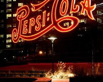 Pepsi sign Long Island City New York